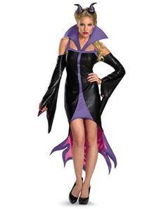 Sassy Maleficent Adult Womens Costume - 346525 | trendyhalloween.com #maleficentcostumes #maleficent #womenscostumes #disneyvillains