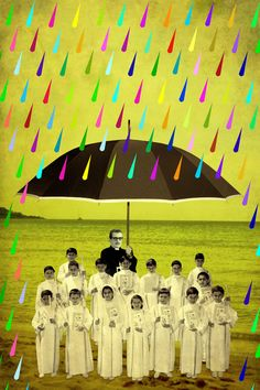 """Saatchi Online Artist: Lili Kedves; Digital, Assemblage / Collage """"Protected"""""""