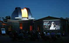 Science-fiction movies at the Astronomic Observatory