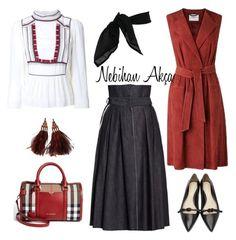 """hijab fashion outfit"" by nebihan-akca on Polyvore featuring Étoile Isabel Marant, Burberry, Bottega Veneta, 3.1 Phillip Lim, TC Fine Intimates and Louis Vuitton"