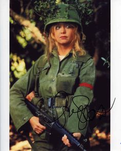 Goldie Hawn Private Benjamin Signed 8x10 Photo Certified Authentic JSA