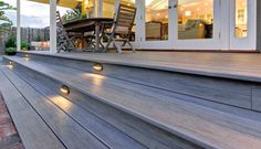 Dark evening #deck?