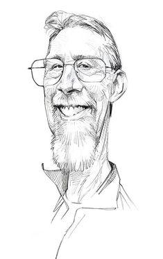 Sketch Study, Caricature || Dave Malan