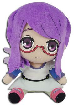 NEW-Tokyo-Ghoul-Rize-7-039-039-Plush-by-GE-Entertainment