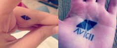 matthy into avicii symbol accessorize tattoo. RepinLikeView Pic
