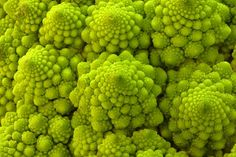 Nearly exact self-similar fractal forms occur do in nature a beautiful and perfect example is a chou Romanesco cabbage. This is so visually stunning an object that on first encounter it's hard to imagine you're looking at a garden vegetable rather than an alien artefact created with molecular nanotechnology.