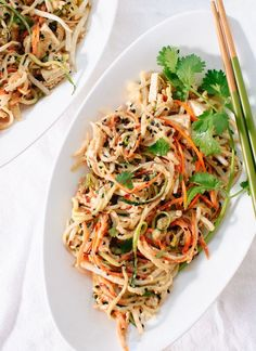 No-Noodle Pad Thai | 21 Low-Carb Dinners That Will Keep You Warm This Winter