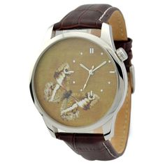 Butterfly Watch Brown by SandMwatch on Etsy