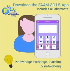 Already in #Copenhagen for the great #FAAM2018 #FoodAllergy & #Anaphylaxis Meeting ? Do not forget to use the #FAAM2018 hashtag for the event-related posted content & Download the #FAAM2018 App to have all the meeting information at your fingertips ! #AllergistsGetTogether