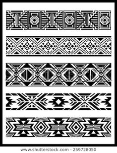 Find Navajo Aztec Border Vector Illustration Page stock images in HD and millions of other royalty-free stock photos, illustrations and vectors in the Shutterstock collection. Thousands of new, high-quality pictures added every day. Native American Patterns, Native American Symbols, Native American Design, Native Design, Native American Jewelry, Tribal Patterns, Loom Patterns, Navajo Tattoo, Osiris Tattoo