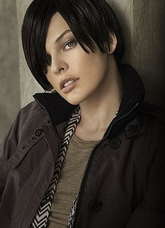 Xhex - Milla Jovovich, BDB series by J.R. Ward.  Xhex is another great character from this series.