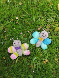 Butterfly & or: bye, winter! Crochet Giraffe Pattern, Crochet Patterns Amigurumi, Crochet Blanket Patterns, Baby Knitting Patterns, Crochet Hooks, Free Crochet, Bird Free, Crochet Basics, Yarn Needle