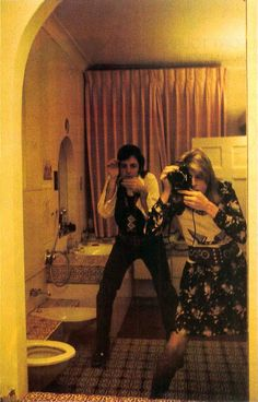Paul and Linda McCartney- Self-portrait