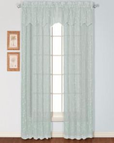 Savannah Sheer Linen Embroidered Rod Pocket Panel