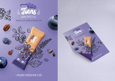 Cereal bar - Vita Tiens on Behance Creative Poster Design, Ads Creative, Creative Posters, Graphic Design Typography, Graphic Design Illustration, Food Packaging Design, Packaging Design Inspiration, Brochure Design, Branding Design