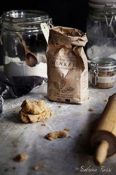 Baking, flour, food, rolling pin