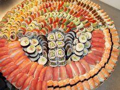 Sushi na wesele