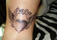 I actually want something like this. I definitely want it to say papa cause that was a special name for my grandpa.
