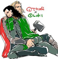 1 Thor x 3 Loki / ThorKi || Cr: mae