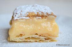 Cremsnit reteta clasica Savori Urbane (1) Romanian Food, Sweets, Urban, Cheese, Good Stocking Stuffers, Candy, Goodies, Treats, Sweet Treats