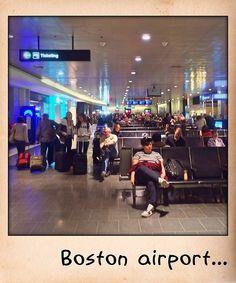 Boston airport...