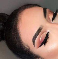 28+ ideas makeup morenas primavera for 2019 #makeup #EyeMakeupGlitter Makeup Eye Looks, Smokey Eye Makeup, Cute Makeup, Glam Makeup, Pretty Makeup, Skin Makeup, Eyeshadow Makeup, Makeup Inspo, Makeup Art