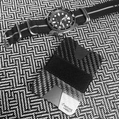 carbon fiber wallet, slim wallet, minimalist wallet