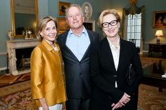 Meryl Streep looks perfectly amazing. With her husband Don Gummer and Fape President Eden Rafshoon at the Fape Dinner in May 7,2014