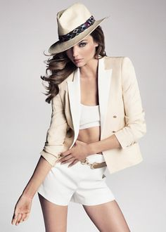 Miranda Kerr reveals Mango's chic and tailored summer '13 fashion collection - Yahoo! Lifestyle UK