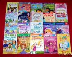 20 Teacher Resource Beginning Readers~Books Reading Level 1 & 2  Ages 5-8 Olivia
