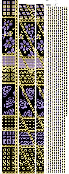 24 around tubular bead crochet rope pattern Crochet Bracelet Pattern, Crochet Beaded Bracelets, Bead Crochet Patterns, Bead Crochet Rope, Bead Loom Bracelets, Loom Patterns, Beading Patterns, Beaded Crochet, Peyote Stitch Patterns