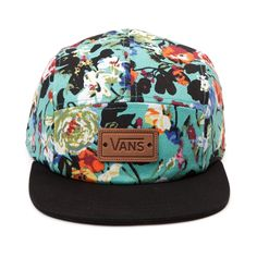 Vans Floral Camper Hat