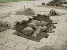 amazing sand sculptures