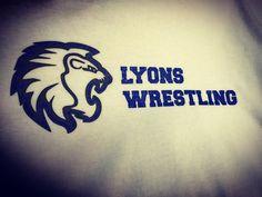 Hear them roar! Lyons wrestling screen print. #SKAZMA #lyonshighschool #lyonswrestling #longmont #lyons #colorado #like #comment #follow #like4like #instagood #screenprint #onlinedesigner #tshirtsonline #athleticfont #collegiate