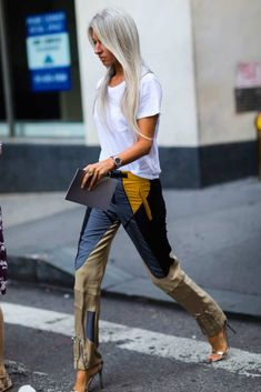 The Best Street Style From London Fashion Week : Sarah Harris - The Cut Fashion Weeks, Trend Fashion, Look Fashion, Autumn Fashion, Womens Fashion, High Fashion, Nyfw Street Style, Cool Street Fashion, Street Chic