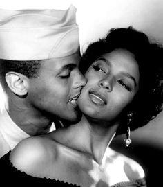 """Harry Belafonte and Dorothy Dandridge. Lena Horne referred to Dorothy Dandrige as """"our Marilyn Monroe"""""""