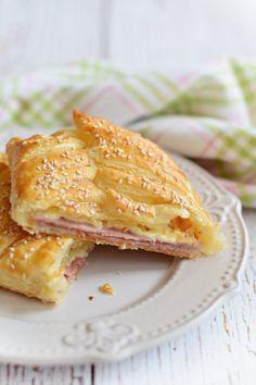 Forró reggeli szendvics, leveles tésztából – Rupáner-konyha