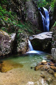 国土のうち、4分の3を山地に占められている日本。平地部が少なく、山間部が多い日本の河川は長さも短く川幅も狭くなっています。それゆえ、日本の河川は急流が多く、数多くの滝があります。日本全国に存在する滝の中でも特に素晴らしい滝として選ばれた「日本の滝100選」。今回は滋賀県、京都府、大阪府、兵庫県の名滝をご紹介します。
