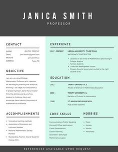 Free Simple Cv Template With Clean Design  Free Resume Templates