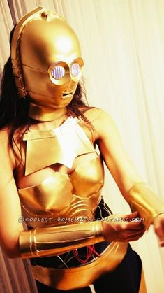 Crafty C3PO Costume... Coolest Halloween Costume Contest