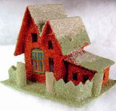 Glitter Putz House