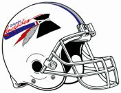 USFL Orlando Renegades, my team in the Pros. Coached by Lee Corso. Football Team, Football Helmets, Team Mascots, Great Logos, Sports Logos, Classic Tv, Rugby, Cheerleading, Team Logo