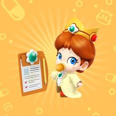 Baby Luigi and Dr. Baby Mario now a reality ! Luigi And Daisy, Mario And Luigi, Mario Kart, Mario Princess Daisy, Nintendo Princess, Princesa Daisy, Princesa Peach, Marvel Cartoon Movies, Peach Mario