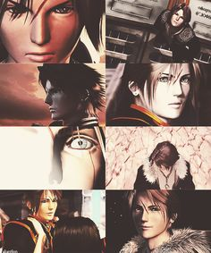 Final Fantasy VIII (1999). Squall Leonhart.