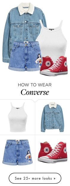 """Scott McCall inspired spring outfit"" by samtiritilli666lol on Polyvore featuring Paul & Joe Sister and Converse"