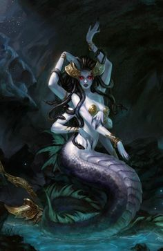 Ceto- in Greek myth, she was known as the goddess of dangerous waters and mother of a sea monsters!