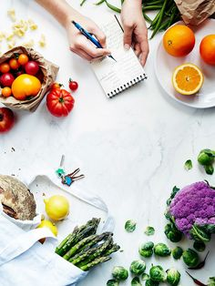 10 Foods Nutritionists Always Have in Their Kitchens via @ByrdieBeauty food photography, food styling