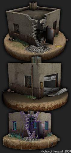 Hut - WIP - by ~chiaroscuro on deviantART