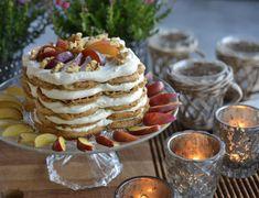 Har du lyst til å servere noe godt, som samtidig er sunt? Da bør du prøve denne supergode og sunne vaffelkaken, som er både glutenfri, melkefri og uten hvitt sukker. Den passer også godt for deg som ønsker å spise ren mat for eksempel for deg som følger Berit Nordstrand sitt opplegg. Hvis du ikke … Christmas Kitchen, Food Inspiration, Camembert Cheese, Smoothies, Gluten Free, Sweets, Snacks, Dessert, Breakfast