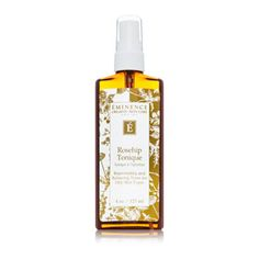 Eminence Sweet Red Rose Tonique moisturizes and nourishes to revive a nutritious, radiant skin tone. Red rose petals calm and moisturize as lemon juice tones to rejuvenate the appearance of your skin. Salicylic acid softly eliminates toxins to enhance a clear, radiant appearance.